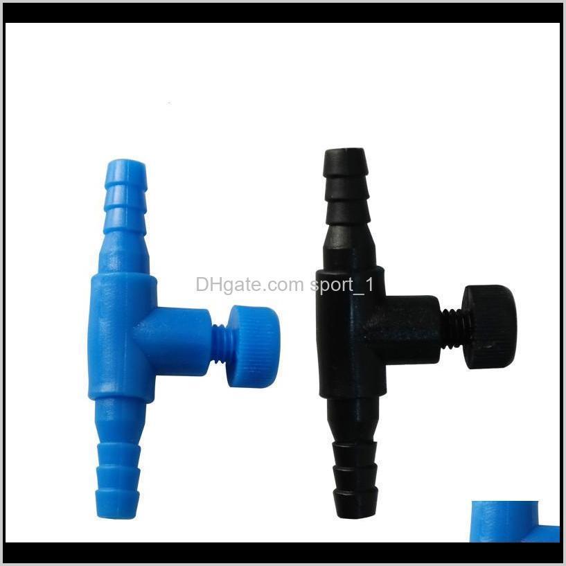200pcs /lot aquarium air flow valve controller check valve airline tubing connectors air control valve air pump accessories