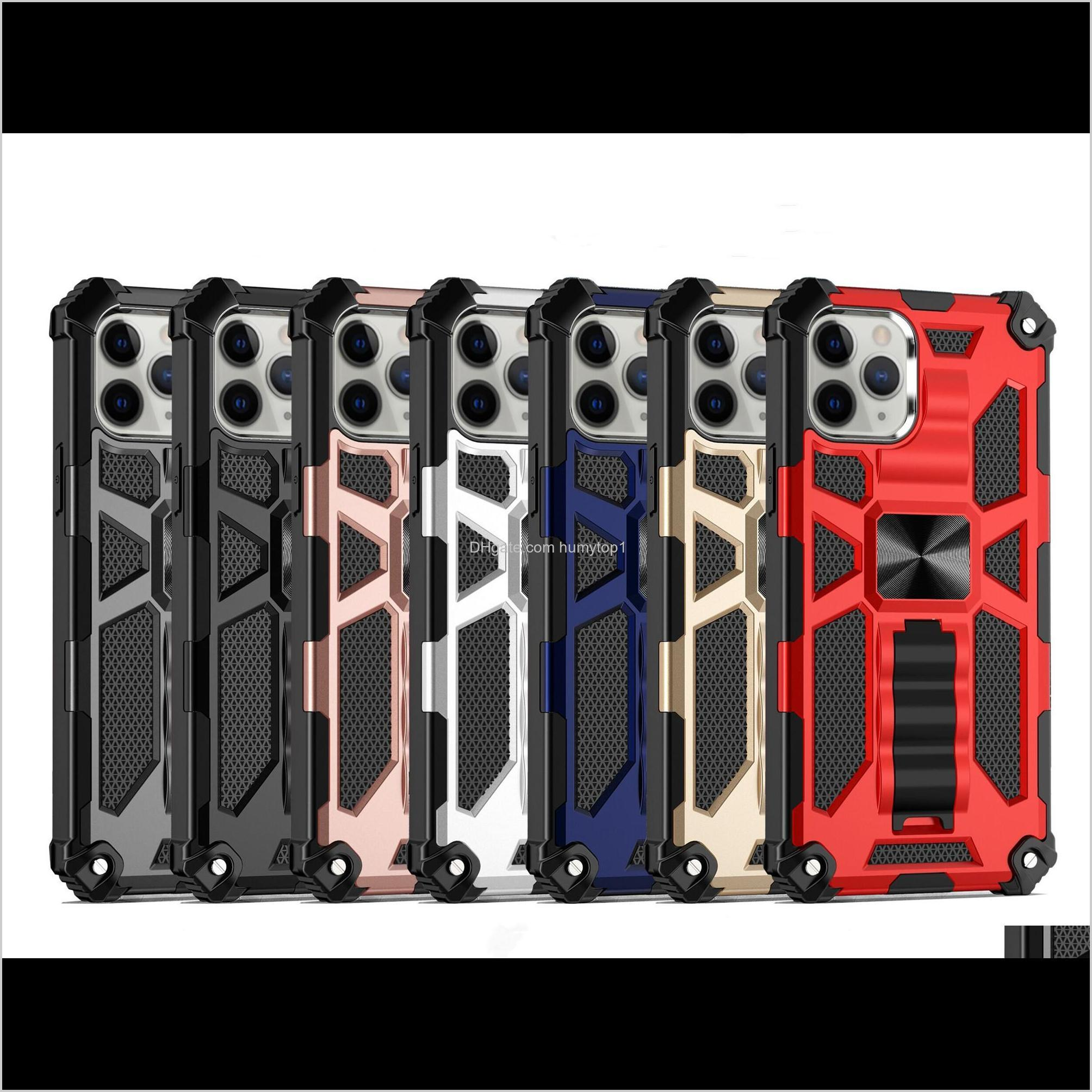 for samsung galaxy s21 ultra s21 pro s21 s30 ultra hybrid armor invisible kickstand magnetic phone case shockproof cover d1
