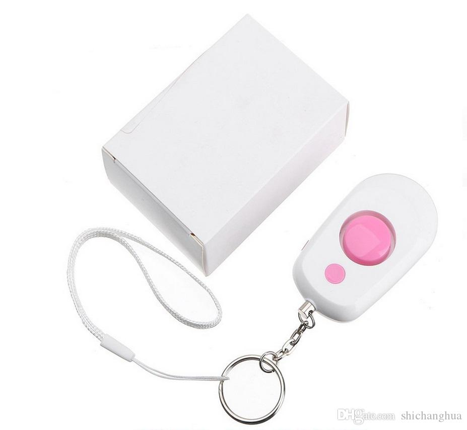 Nouvelle alarme de sécurité Filles Enfants Femmes Enfants Vieux Homme Sécurité Protégez l'alerte Personal Sécurité Screen Scream Sem Keychain Sos Alarm d'urgence