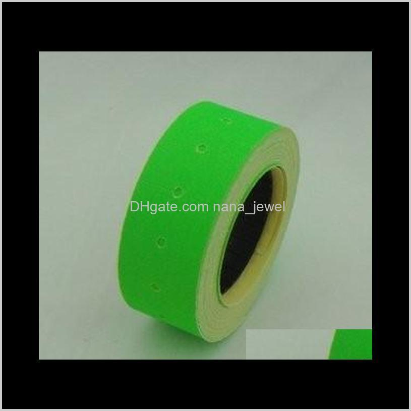 mx-5500 eos 8 digits price tag label gun with green / black labels shipping for ring bracelet bangle pendant