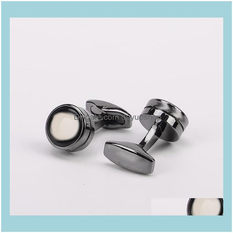 High quality jewelry designer Cufflinks with plum blossom logo men`s shirt Cufflinks in two styles with box