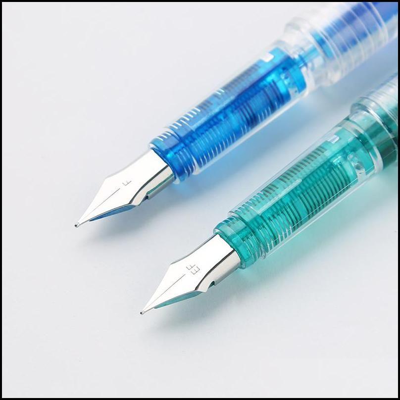 Art font transparent clean fountain pen Art creation painting Font design scrapbook student School supplie