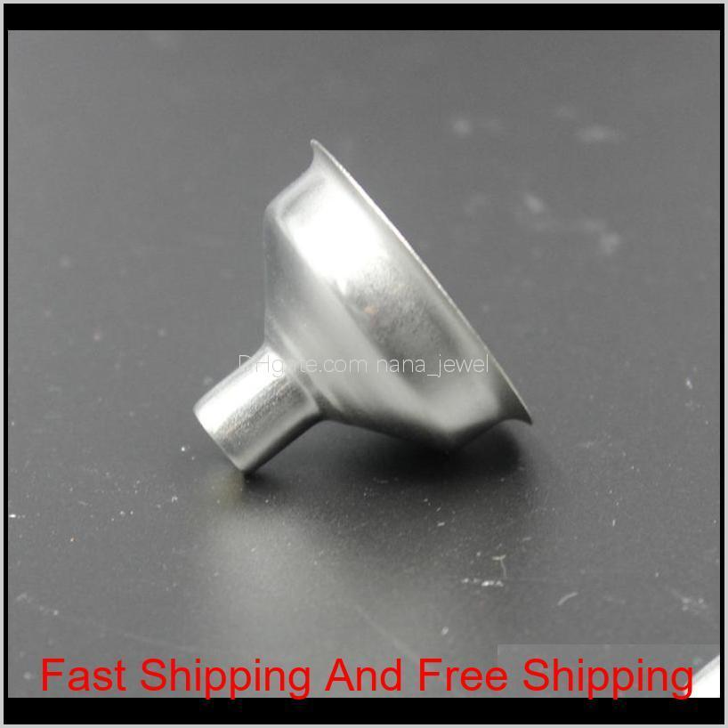 new small funnel for most hip flasks flask wine pot wide mouth stainless steel funnel wholesale
