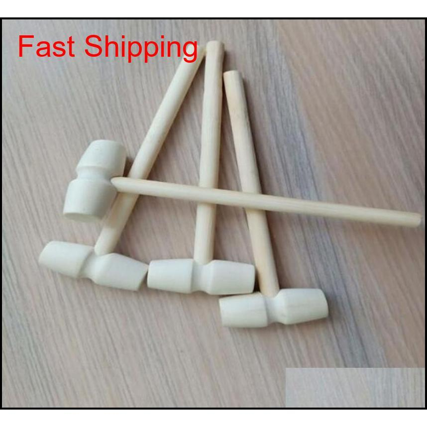 mini wooden hammer balls toy pounder replacement wood mallets jewelry crafts