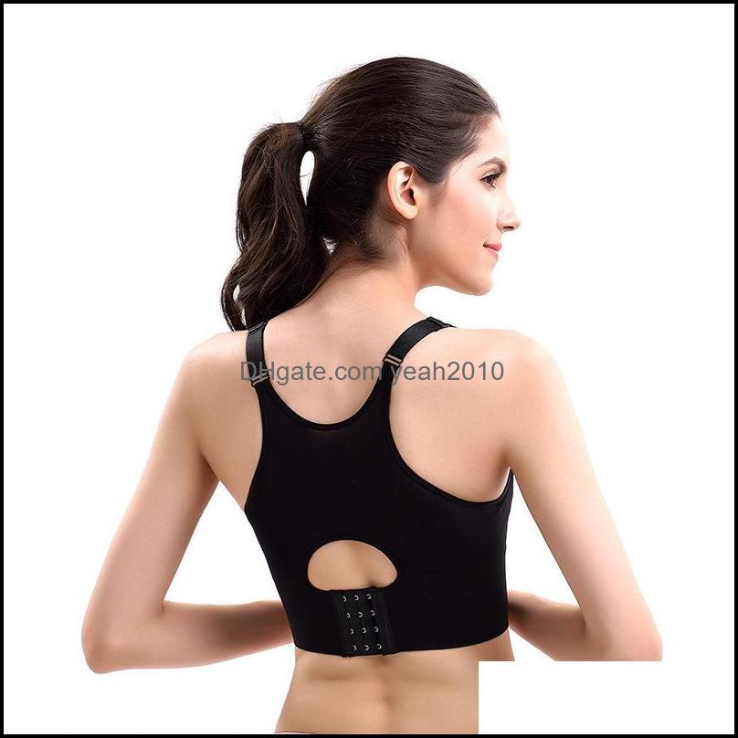 Gym Clothing Bustier Cup Women Push Up Padded Yoga Tank Tops Racerback Brassiere Sports Bra Running Halter Crop Top Fitness