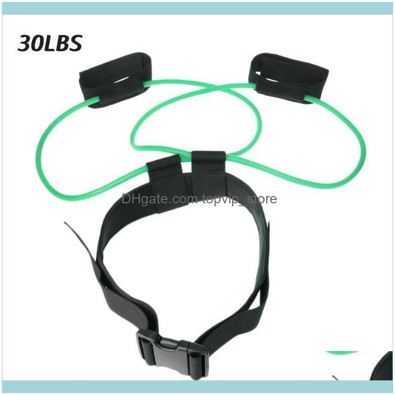 Fitness Booty Bands Glutes Muscle Workout Resistance Band Adjustable Waist Belt K43E