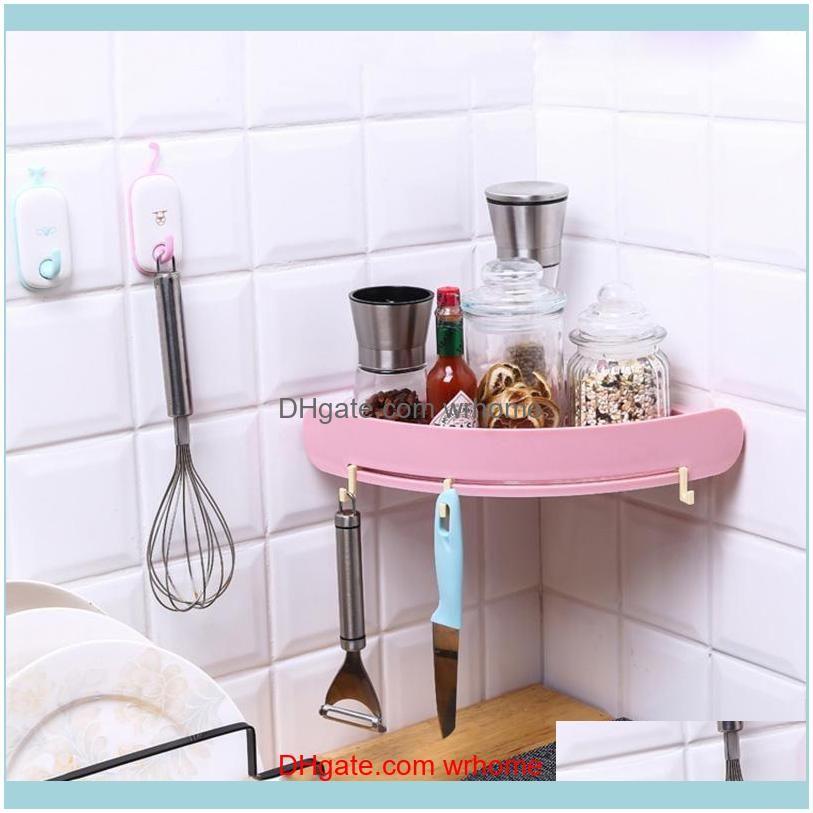 Wall-mounted Bathroom Storage Shelf Rack Waterproof Floating Shelf Home Kitchen Storage Rack Bathroom Accessories Sets