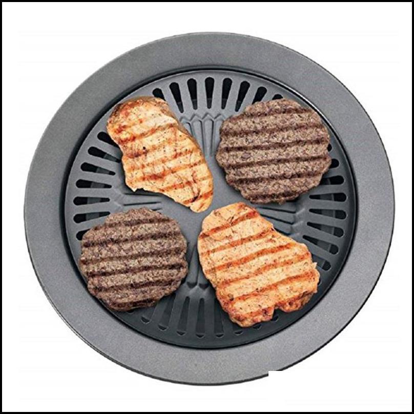 Portable Korean Outdoor Smokeless Barbecue Gas