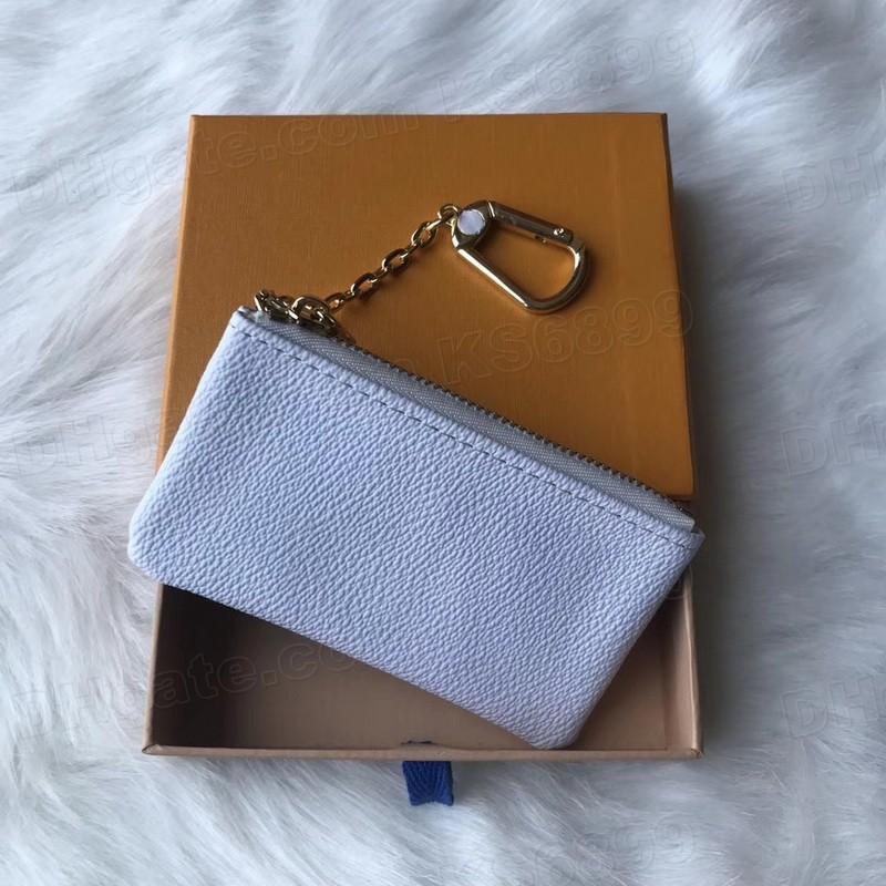 Nuovo arrivo Top Quality Lussurys Design Portabicchieri Portafoglio Portafoglio Classico uomo / Donna Coin Borsa a catena Portafogli con scatola