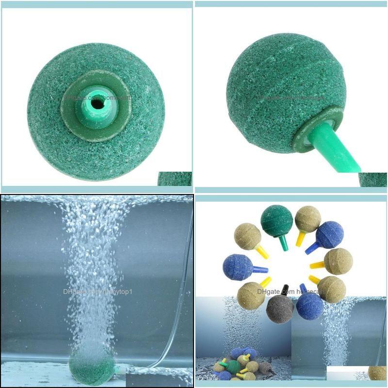 10x Aquarium Pond Cylinder Bubble Air Stone Fish Tank Aeration Aerator Diffuser