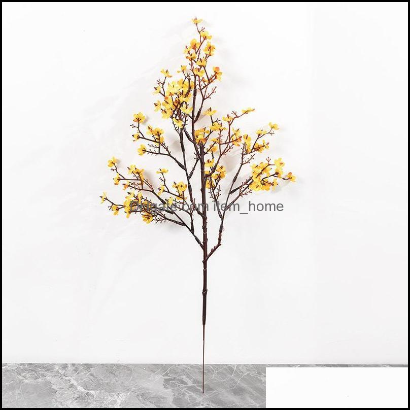 Artificial Silk Starry Flower Plant Bouquet Fake Home Wedding Hand Holding Decoration Garden Floral Office Bedroom Party