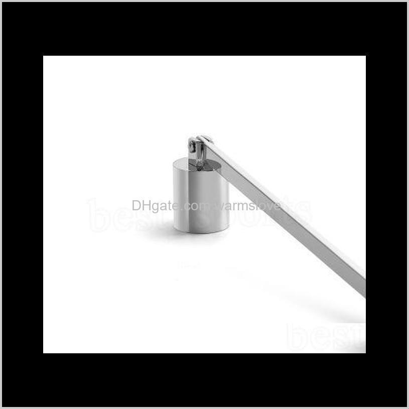 stainless steel candle flame snuffer wick trimmer tool multi colour put out fire on bell easy to use