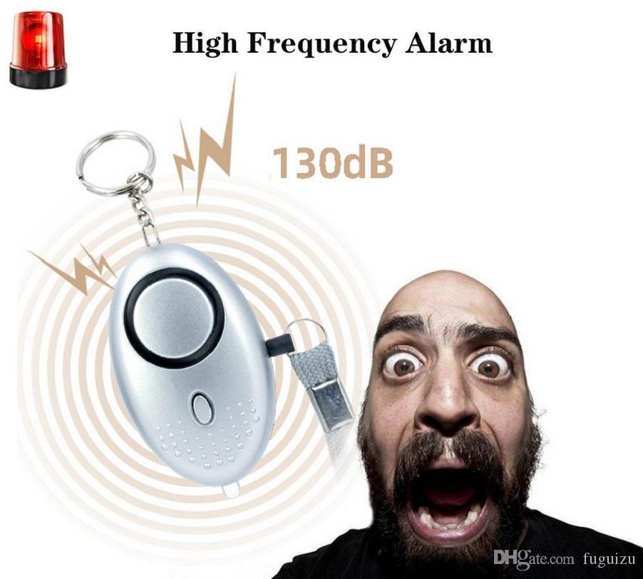 130db Yumurta Şekli Kendini Savunma Alarmı Kız Erkek Kadın Erkek Güvenlik Korumak Uyarı Kişisel Güvenlik Çığlık Loud Anahtarlık Alarm Ücretsiz Kargo