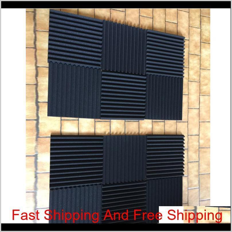 48 pcs acoustic panels studio soundproofing foam wedge 1