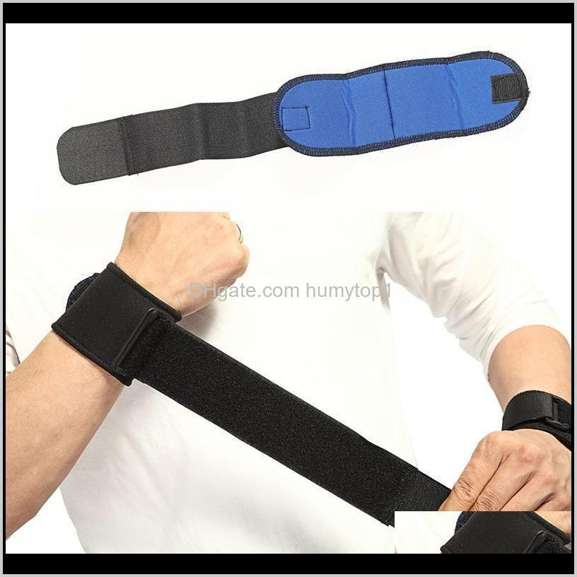 1 pair of adjustable wrist rest support belt gym weight training wristband wrestling professional sports protection
