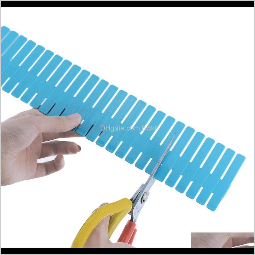 plastic drawer divider diy grid divider household storage storage box underwear socks grid sorting grid combination