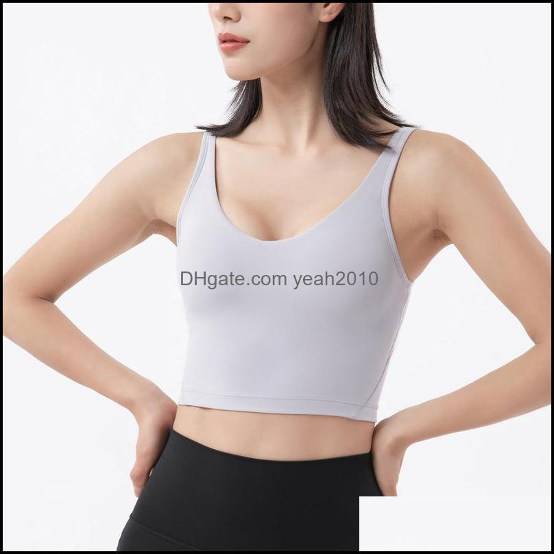 Shaping Sports Vest Running Jogging Fitness Athletic Women Underwear Summer Shockproof Bra Breathable Sweat Wicking Sportsuit For