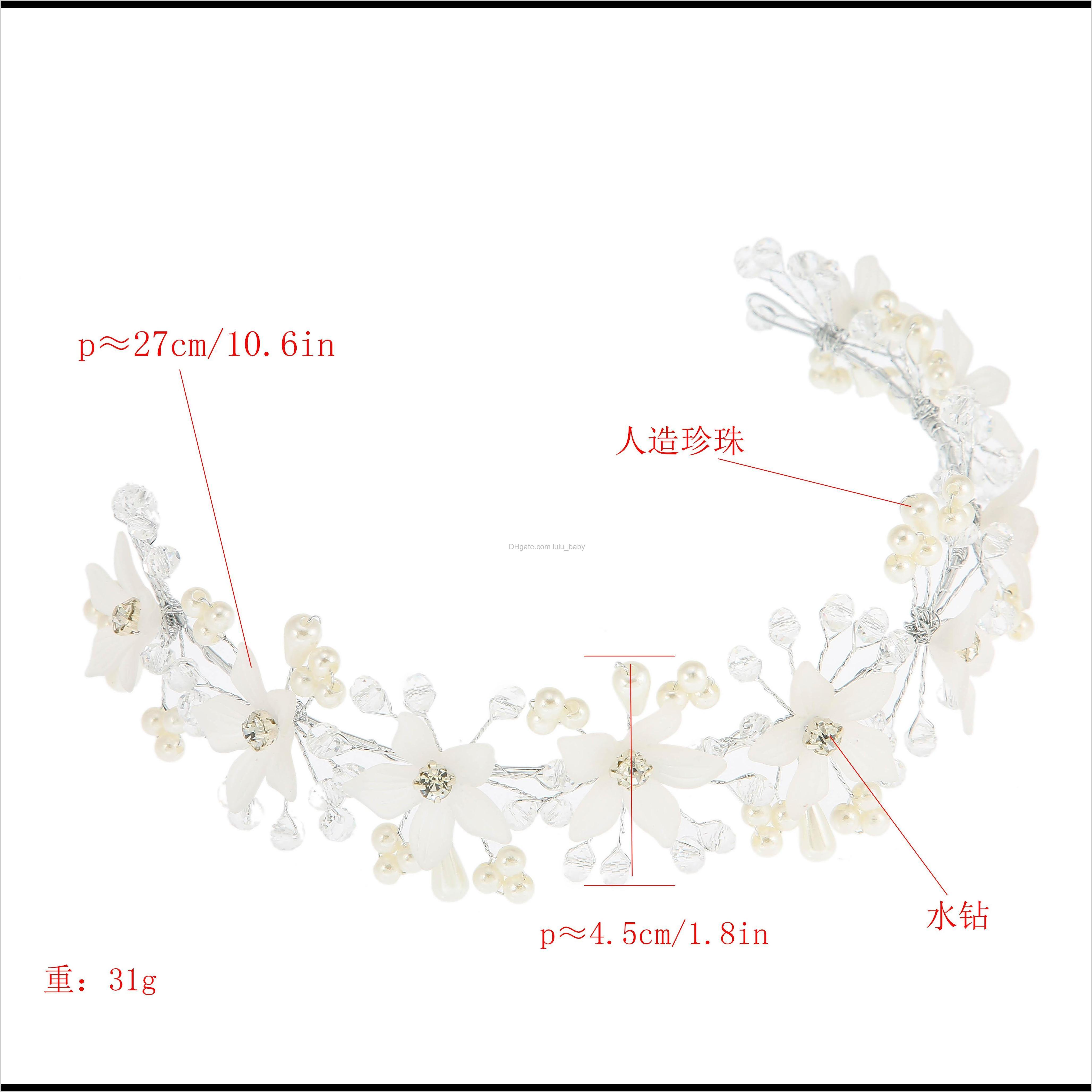 new style fashion fashion personality fresh bride bridesmaid hair accessories trend jewelry diamond pearl hair accessories jewelry
