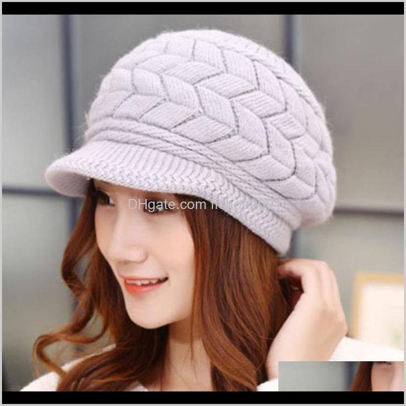 f winter beanies knit women`s hat winter hats for women ladies beanie girls skullies caps bonnet femme snapback wool warm hat