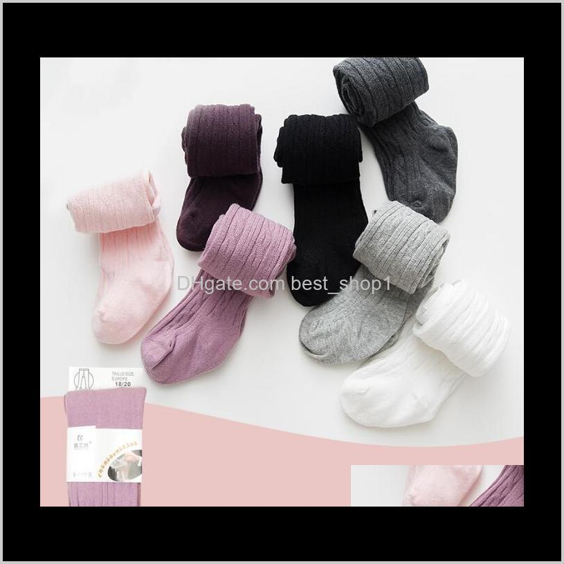 baby pantyhose kids cotton dance socks pants solid baby girl pants stretch tights infant toddler kid clothes 8 colors ewb2998