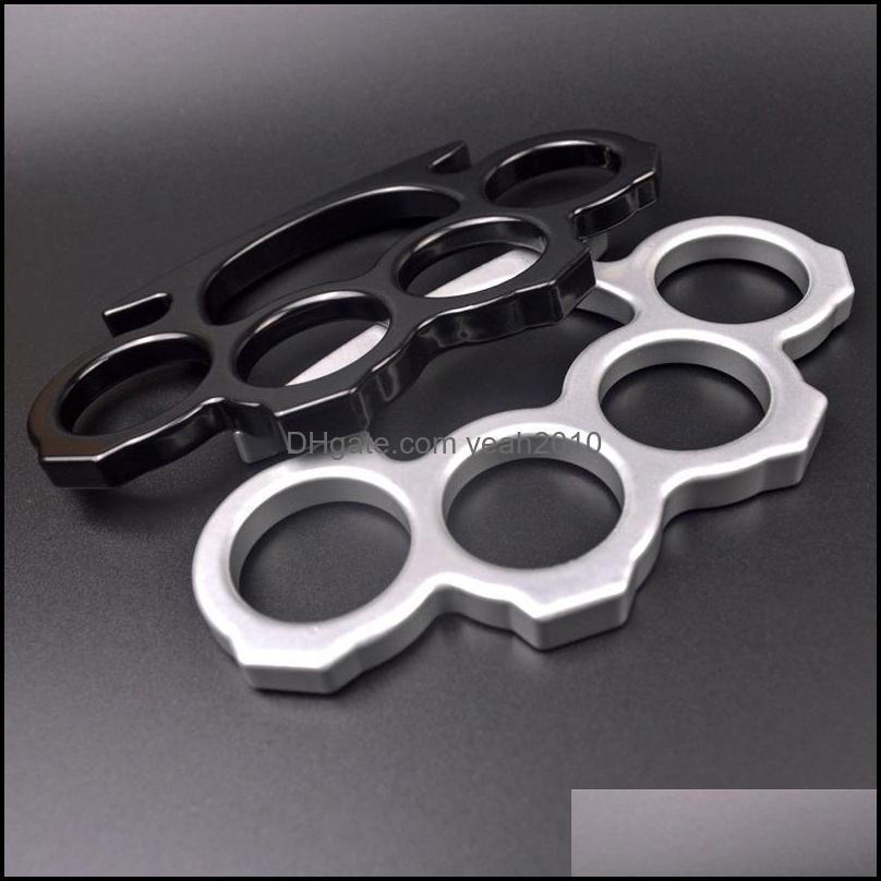 NEWFiberglass Alloy Finger Tiger Four-finger Self Defense Weapon Adult Aluminum Alloy Self Defense Equipment EWB5215