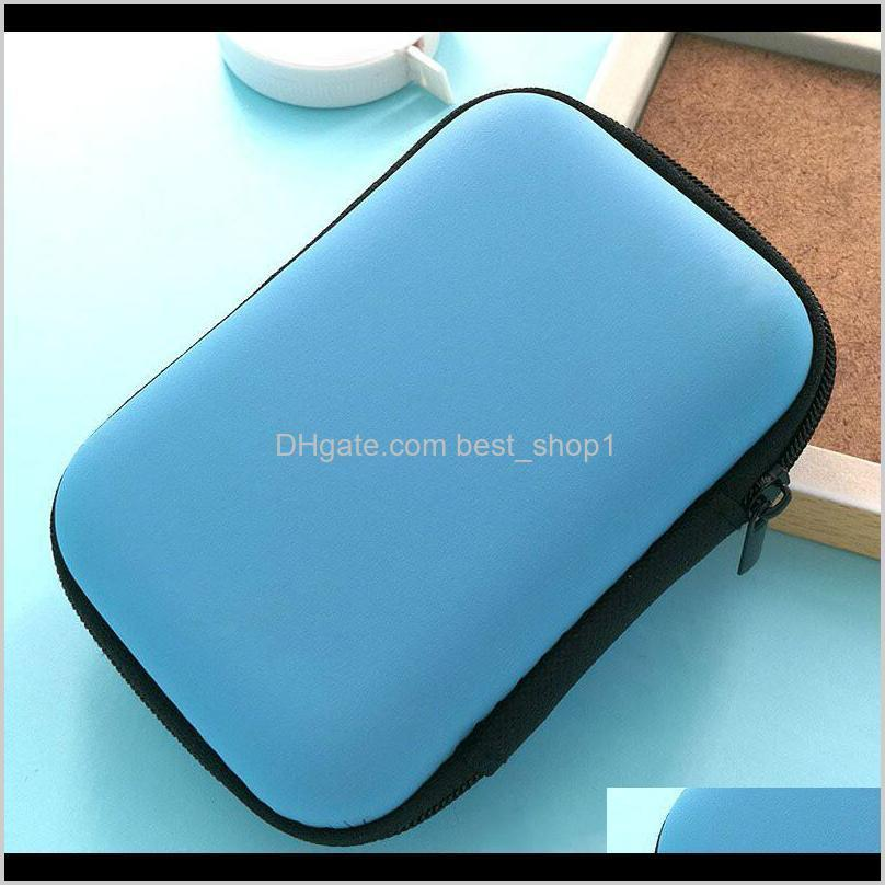 hand carry case cover pouch for 2.5 inch power bank usb external hdd hard disk drive protect protector bag