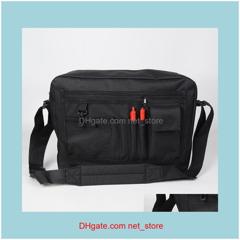 50pcs Messenger Bags Sublimation blank DIY Print S M L Vertical section Oxford Shoulder Cross body Bag