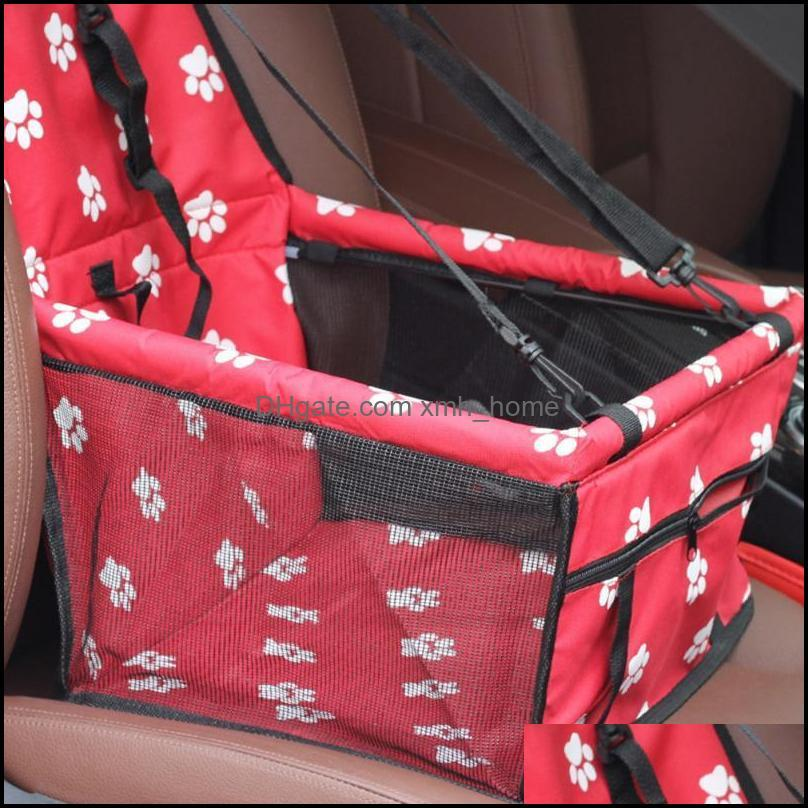 Kennels & Pens Travel Dog Car Seat Cover Folding Hammock Pet Carriers Bag Carrying For Cats Dogs Transportin
