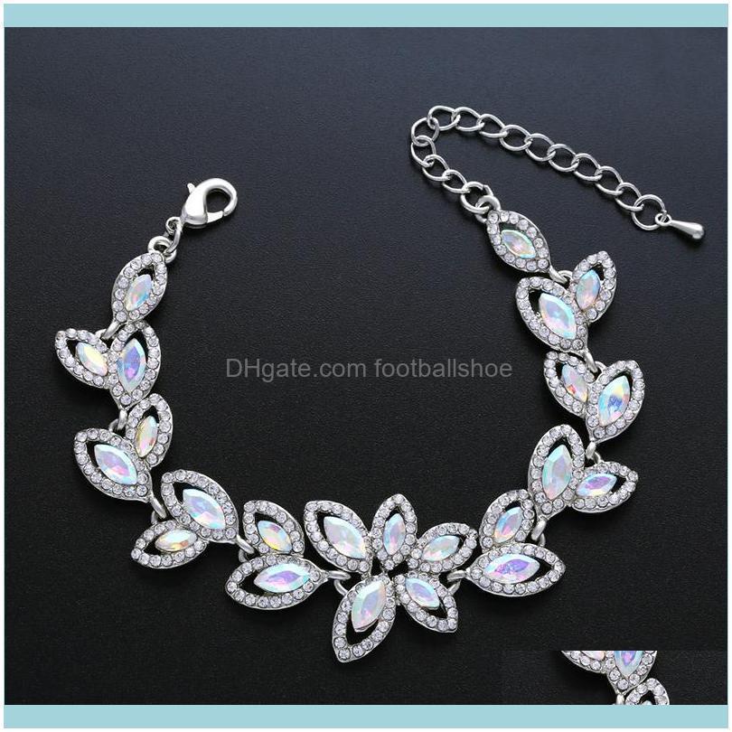 Designers Jewelry Bridal Bracelet Crystal lady diamond bracelets brj88