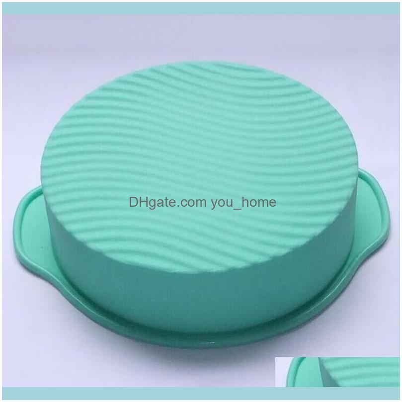 3D Silicone Cake Mold Round Shape