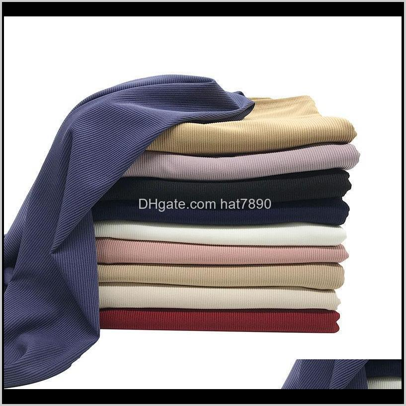 NEW Ribbed Jersey scarf Premium women muslim stretchy hijabs high quality scarvess 558 T2