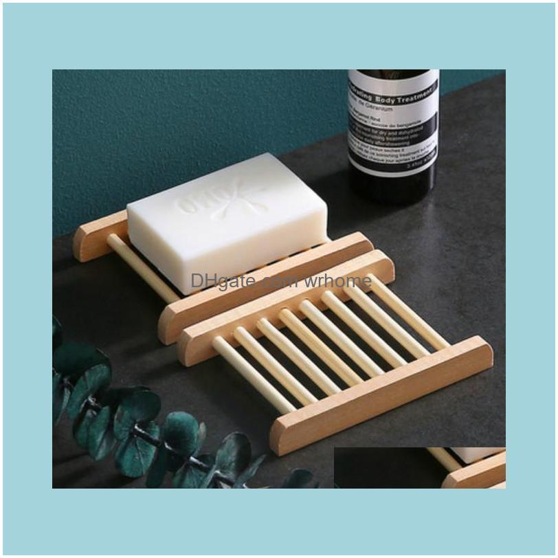 Natural Wood Soap Tray Holder Dish