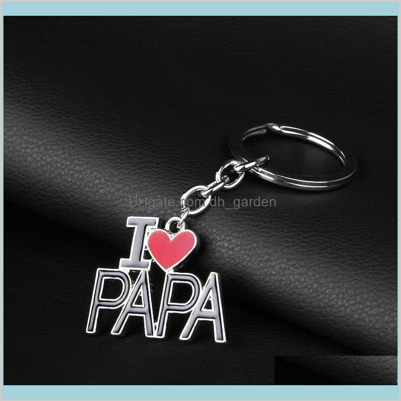I Love DAD MOM MAMA PAPA