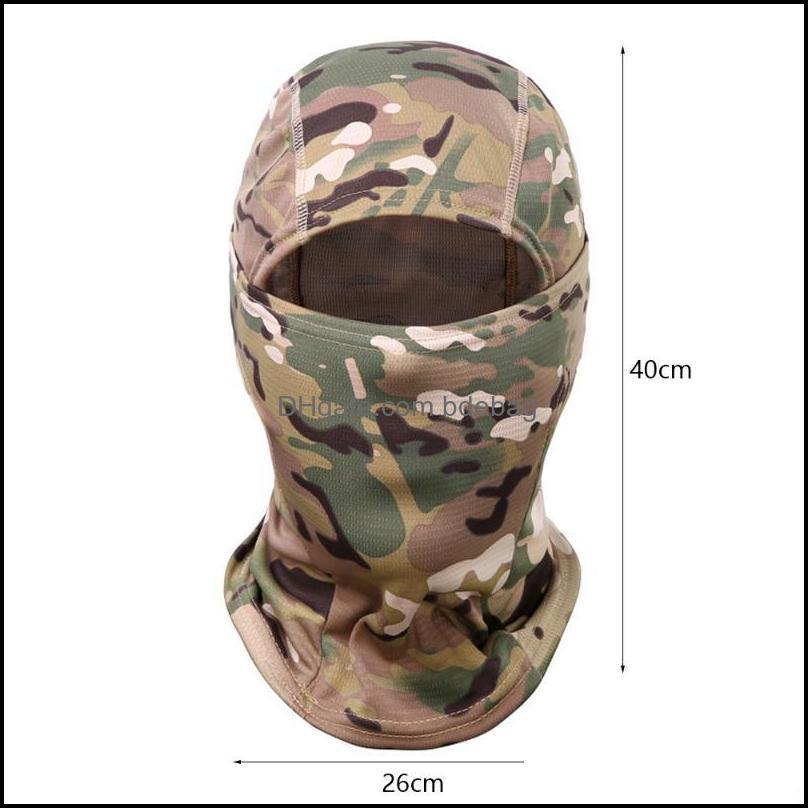 Cycling Caps & Masks Tactical Balaclava CP Full Face Neck Scarf Head Warmer Outdoor Hunting Hiking Skiing Camo Bandana