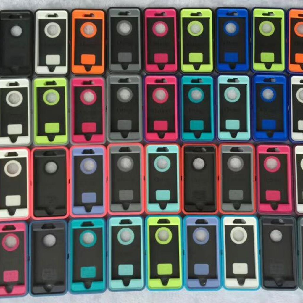 Heavy Duty Robot Multilayer Defender Defender Phone Cas de téléphone pour iPhone 13 PRO Max 12Pro 11 xR XS 7 8 6S Samsung S21 Ultra S20 Plus Note20 avec titulaire Couvercle d'accidents