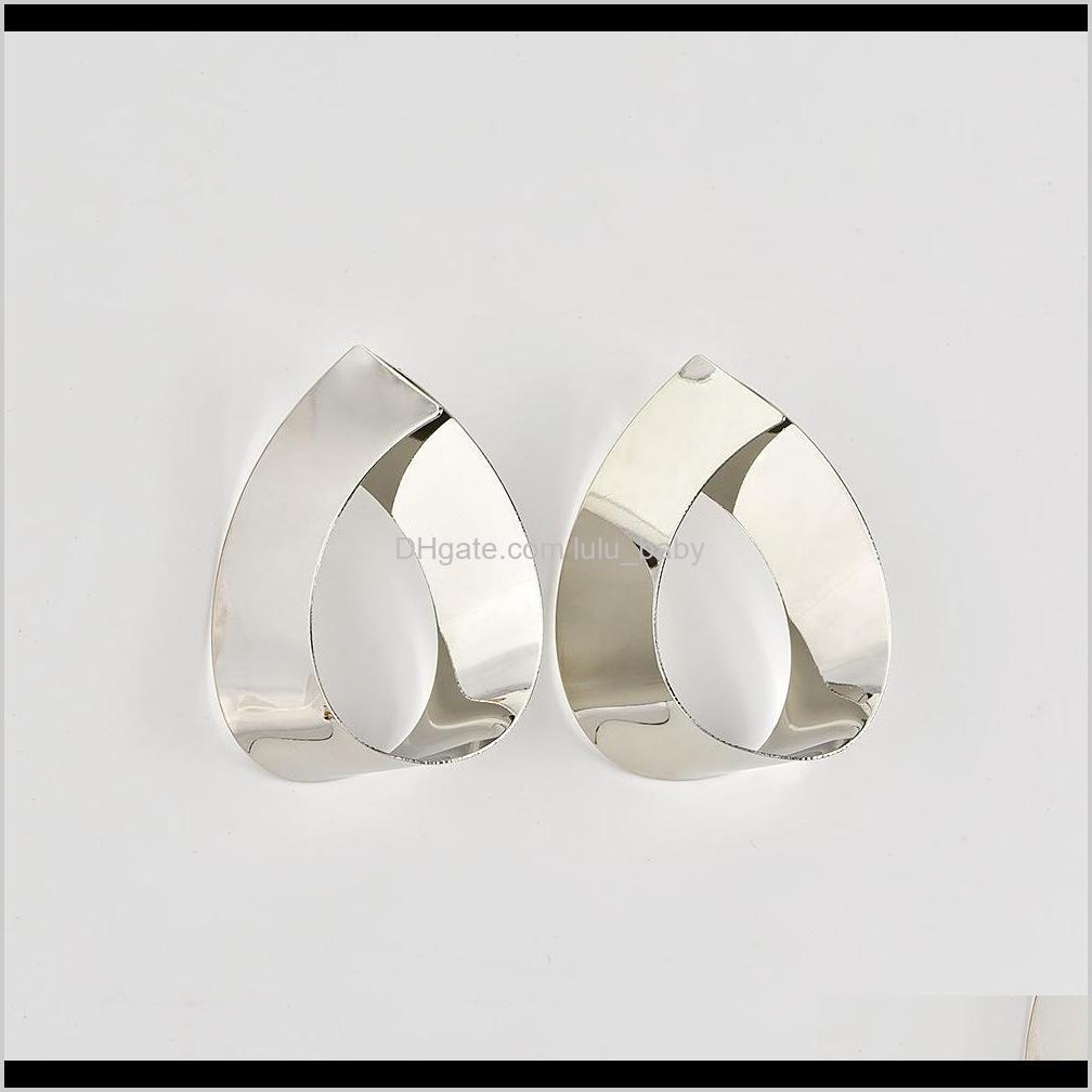 fashion metal statement earrings big geometric earrings for women dangle earrings drop modern art party punk jewellery gift wholesale