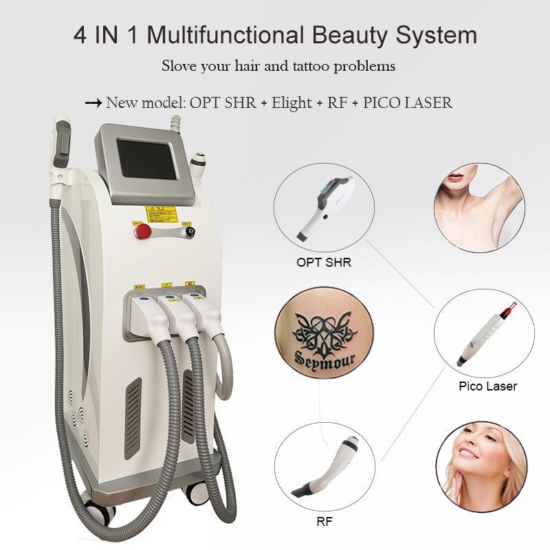 Elight Tratment Machine Laser Super Cabelo De Remoção De Pele Multi Funcional Beauty Salon Equipamento para venda