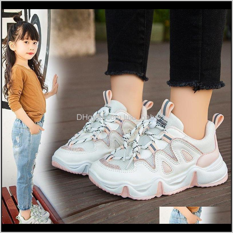 children shoes sport breathable boys sneakers brand kids shoes for girls trainers peclass casual child flat tennis shoes d09232 210303