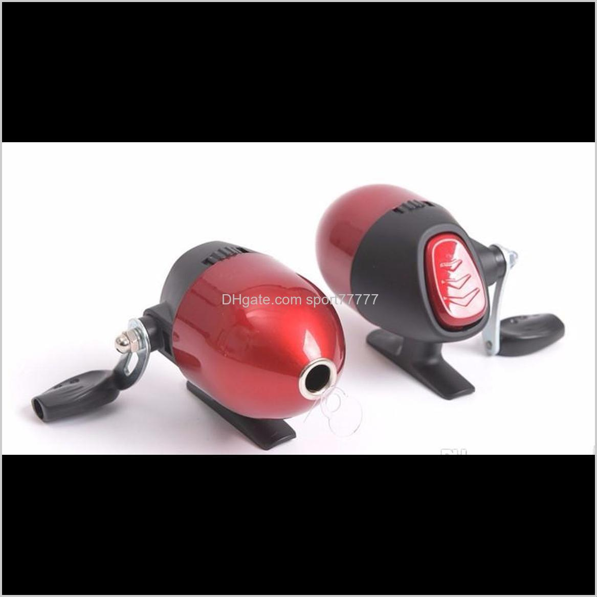 red spin cast bow crossbow casting reel spinning reel inner line shooting fish wheel built-in close