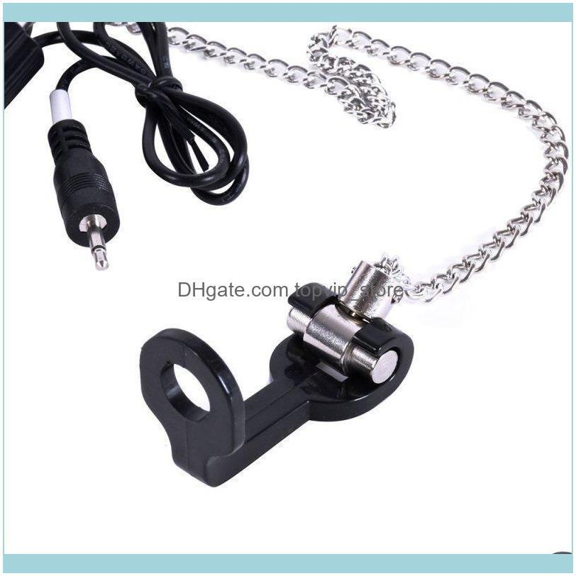 Fishing Alarm Chain Hanger Swinger Indicator Bite Tackle Tools Stainless Steel LED Illuminated Accessories