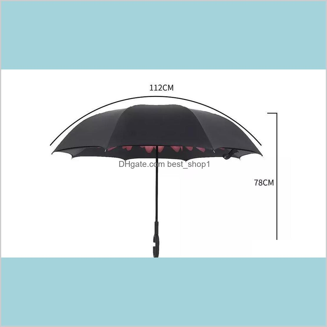 high quality windproof reverse folding double