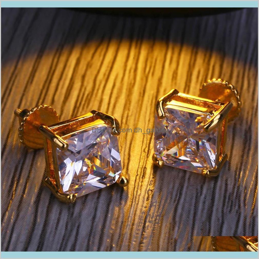 Earrings Diamond Stud Earring Womens Mens