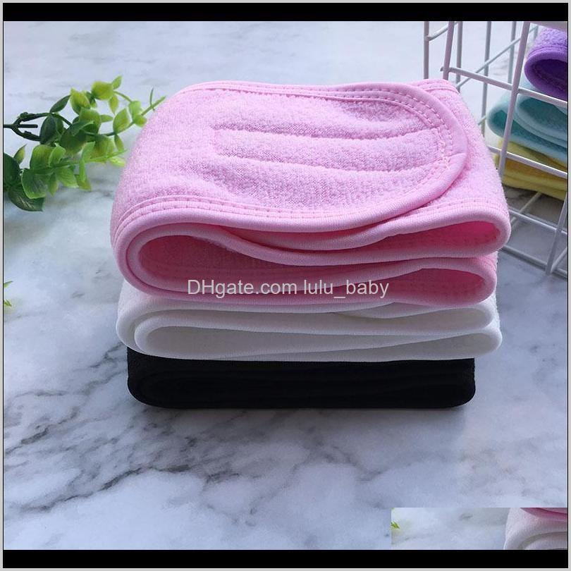cosmetic wrap tiara turban face wash adjustable yoga women facial toweling bath hairband makeup headbands spa salon accessories 100pcs