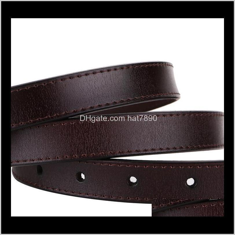 Ladies Real Cow New Leather Vintage Pin Buckle Needle Belt Thin Casual Cowskin Belts for Women Plus Long Waistband Jeans Girdle