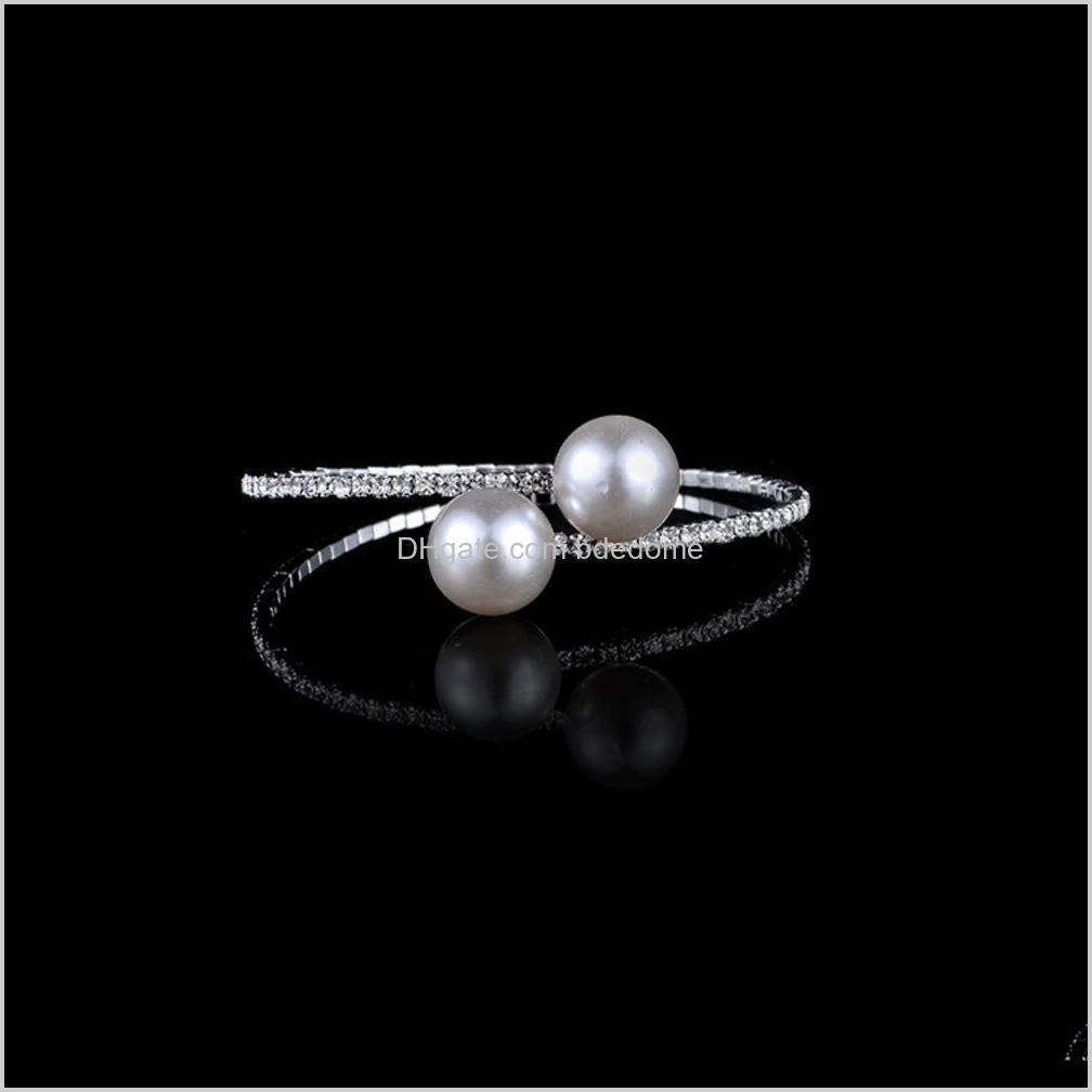 korean pearl lady sweet girl bridal jewelry bracelet diamond braceletztxm