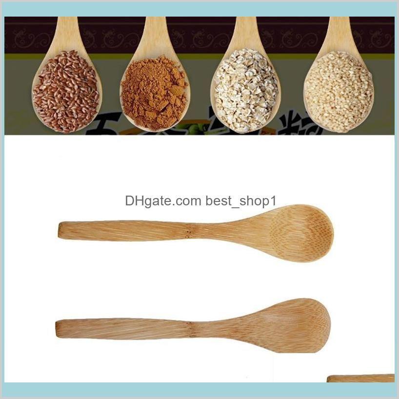 Wholesale- New 6 Pcs Bamboo Wooden