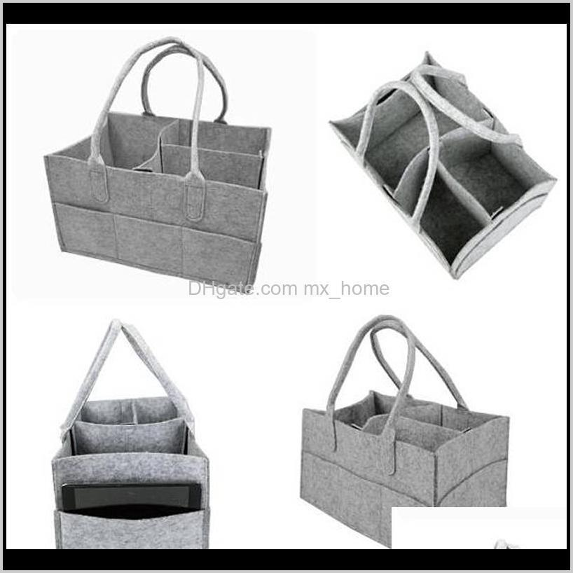 portable baby diaper bag nappy changing bag bottle cup holder travel non-woven fabric mummy removable stroller car organizer