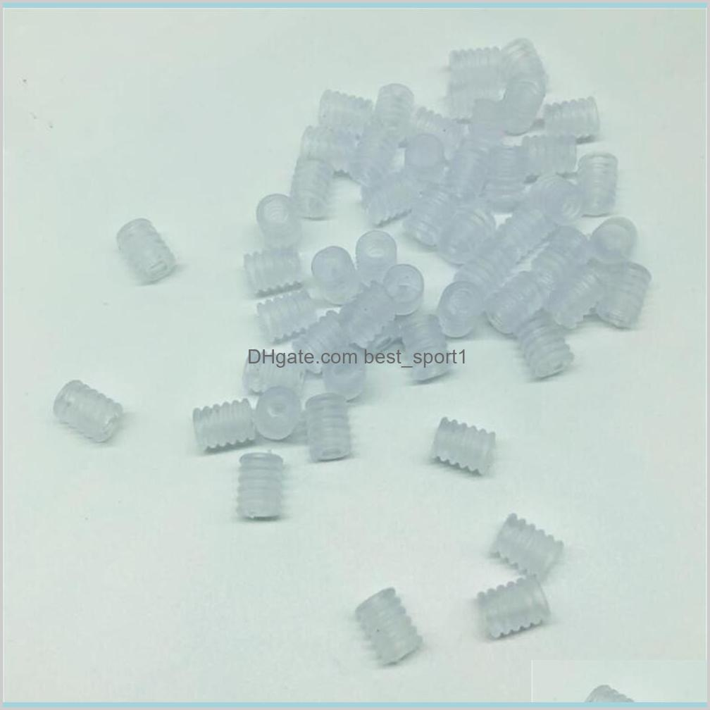 100Pcs/pack Adult Children Adjustable Silicone Cord