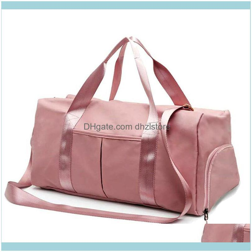 NEW Gym Bag Sports Gym Tote Travel Workout Swim Yoga Bag with Dry Wet Pockets Multifunctional