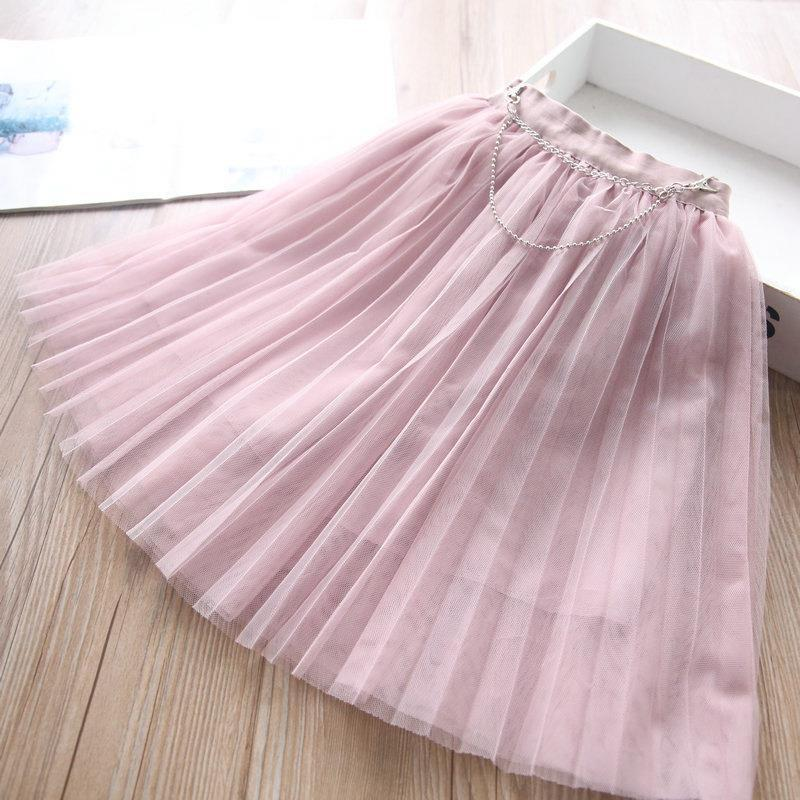 skirts girls tiered children clothes clothing spring summer lace princess long tutu 2-6y b4351